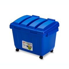 Find Ezy Storage 80L Blue Kids Dumpster at Bunnings Warehouse. Visit your local store for the widest range of storage & cleaning products.