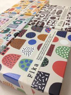 packaging for isetan's fika scandinavian deli (tokyo), by hanna konola and leena kisonen (via kauniste)