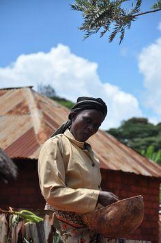 woman farmer, Makueni County,  Eastern Kenya. Photo: Olive Thiong'o (CCAFS).