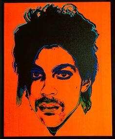 """Orange Prince by Andy Warhol. Warhol on Prince: """".it's the greatest concert I've ever seen there, just so much energy and excitement. Inside Paisley Park, Warhol Paintings, Prince Concert, Prince Paisley Park, Andy Warhol Museum, Phoenix Art Museum, Roger Nelson, Prince Rogers Nelson, Rare Photos"""