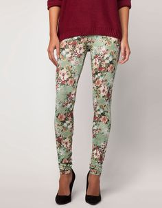 Bershka Italia - Legging Bershka fiori