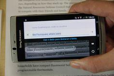 Google Tradutor passa a traduzir livros físicos pela câmera do celular