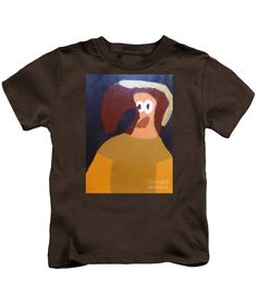 Patrick Francis Designer Kids Coffee T-Shirt featuring the painting Portrait Of Marianna Of Austria - After Diego Velazquez by Patrick Francis