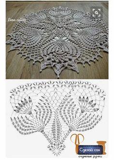 Crochet Wall Art, Crochet Doily Rug, Crochet Doily Diagram, Crochet Doily Patterns, Crochet Tablecloth, Crochet Chart, Love Crochet, Beautiful Crochet, Irish Crochet