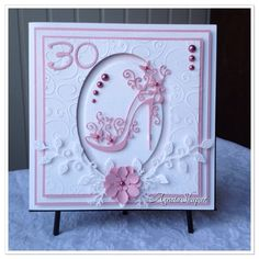 Love this shoe from Tattered lace! Here I made a birthday card! More