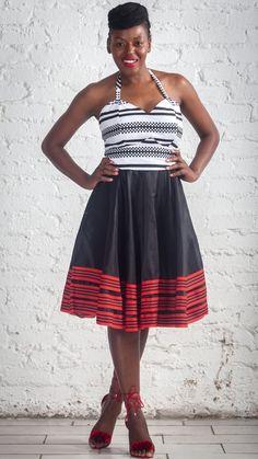African print designer dress 2019 African Design, Zulu, Designer Dresses, Print Design, Urban, Fashion, Moda, Designer Gowns, Fashion Styles