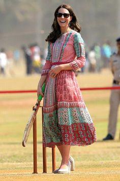 Modest Midi Dress on Kate