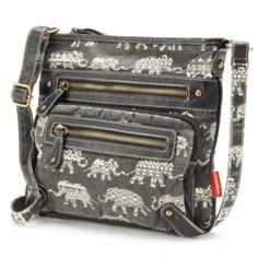 Unionbay Elephants Crossbody Bag