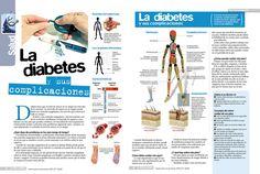La diabetes y sus complicaciones #infografia