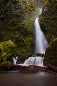 """""""Mysterious Ways"""" by Tula Top, via 500px; Lower Soda Falls, Cascadia State Park, Oregon"""