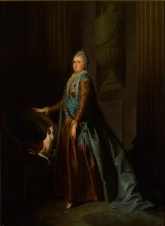 Catherine II by anonymous (18 c, Russian museum) - Portraits of Catherine II of Russia - Wikimedia Commons