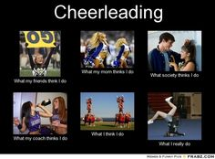 Cheerleading Problems | Bahaha this is awesome!!!