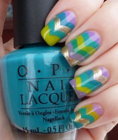 How cute is that? Be a great nail design for Easter