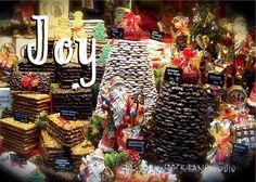 Joy Christmas in Germany 4x6 holiday cookie by StockLaneStudio #wanderlust  #travel  #europe  #germany  #aachen  #europeanchristmas  #germanchristmas  #xmascard  #christmascard  #christmascookies  #joy  #etsy  #stocklanestudio  #food