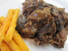 Slow Cooker Short Ribs with Fig Mole Sauce