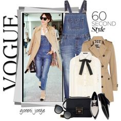 60 Second Style: Wear Overalls to Work!