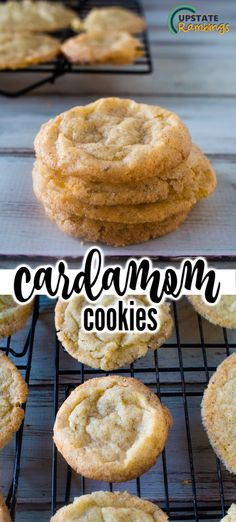 These rich spice cookies are traditional Scandinavian cookies. Crisp and tasty they are a delicious homemade cookie the entire family will love. Flavored with cinnamon and cardamom they make the entire house smell amazing! Cardamom Cookies Recipe, Soft Cookie Recipe, Delicious Cookie Recipes, Best Cookie Recipes, Best Dessert Recipes, Yummy Cookies, Brownie Recipes, Spice Cookies, Fun Desserts