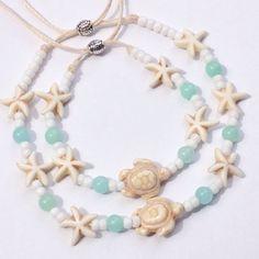 beach jewelry sea turtle anklet turtle bracelet beachcomber
