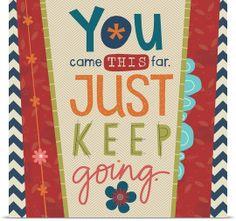 Keep Going - Holli Conger