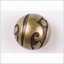 36L/23mm Old Brass Metal Button affordable abstract-on-abstract