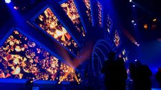 Corporate stage set on Behance Concert Stage Design, Stage Set Design, Maxon Cinema 4d, Stage Lighting, Autocad, Staging, Behance, Ideas, Party
