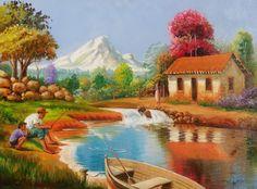Resultado de imagem para pinturas de douglas frasquetti