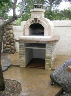 The Schlentz Family Wood Fired DIY Brick Pizza Oven in California - BrickWood Ovens