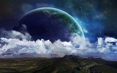 Космические фантазии, красивые картинки.