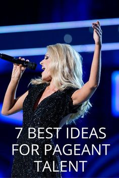 Many pageants are now requiring contestants to perform a talent on stage as part of the judging process. This often worries some girls if they can't figure out their talent. I promise, even if you think you aren't talented, you have the talent in you. You just have to dig down and find it. Read our top 7 ideas you can perform as a talent in your next pageant!