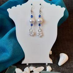 Bridesmaid Earrings, Wedding Earrings, Wedding Jewelry, Groom Gifts, Bride Gifts, Dainty Earrings, Pearl Drop Earrings, Stocking Fillers, Stocking Stuffers