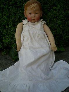 Käthe Kruse Puppe, ca. 100 Jahre alt,