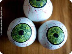 ¡Ojos terroríficos para Halloween! – Ideas para Decoracion