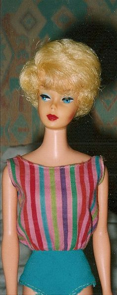 Rare High Color European Bubble Cut Barbie