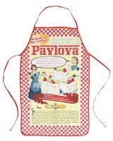 What a way to get a Pavlova recipe! Recipe AND apron, lovin' it! Pavlova Recipe, Recipe Recipe, New Zealand, Apron, How To Get, My Love, Pinafore Apron, Aprons