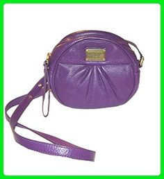 Marc by Marc Jacobs Classic Q Cara Round Leather Crossbody, Pansy Purple - Top handle bags (*Amazon Partner-Link)