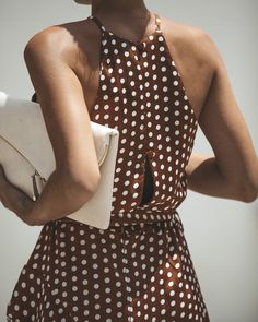 Dots Fashion, Daily Dress, Polka Dot Print, Polka Dots, Couture, Beautiful Outfits, Fashion Dresses, Maxi Dresses, Clothes For Women