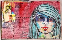 Balzer Designs: art journal. 1-PurpleFace-wm
