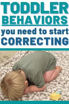 Examples of Toddler Behaviors that need your attention and correction. Don't keep ignoring behaviors thinking they'll go away! Instead, start correcting them with teaching and thoughtful discipline! Including How to make a plan that works for your family! #toddler #toddlerdiscipline #discipline #baby #tantrums #terribletwos #momlife #mom #momhacks Toddlers And Preschoolers, Parenting Toddlers, Kids And Parenting, Parenting Hacks, Parenting Styles, Disciplining Toddlers, Parenting Classes, Single Parenting, Toddler Behavior