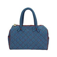 Modrá dámská kabelka Naraya s kontrastním prošitím NNBDN92DN2171