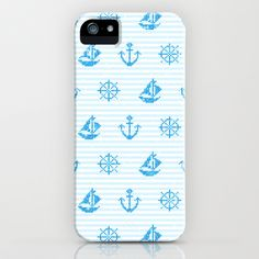 Sea Knitting #2 iPhone & iPod Case by Ornaart - $35.00