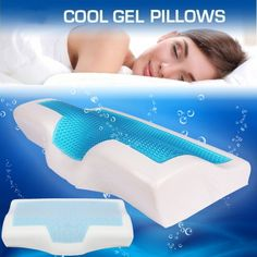 Memory Foam Pillow Cooling Gel Pillow