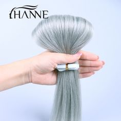 """Tape in human hair extensions 20 pcs 20"""" or 24"""" skin weft tape in hair 613 blonde Brazilian hair 7A remy human hair wholesale"""