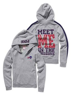 $54 Victoria's Secret PINK Buffalo Bills hoodie