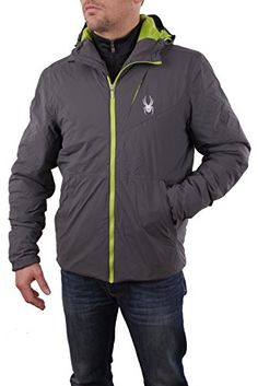 Spyder Mens Berner Jacket PolarTheory Green Large * Continue to the product at the image link. (Amazon affiliate link)