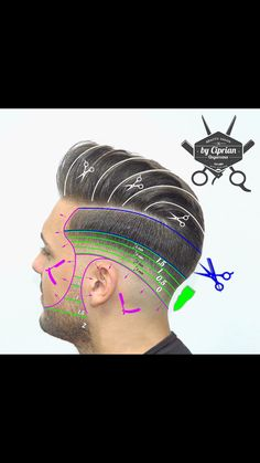 Fade Haircut Styles, Beard Styles, Popular Mens Hairstyles, Boy Hairstyles, Barber Haircuts, Haircuts For Men, Hair Cut Guide, Hair Type Chart, Medium Hair Styles