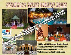 #OneStopWeddingVenue Wedding Posters, South Africa, Things To Do, Wedding Venues, Coast, Beach, Things To Make, Wedding Reception Venues, Wedding Places