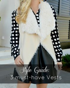 3 Must-Have Vests for Fall
