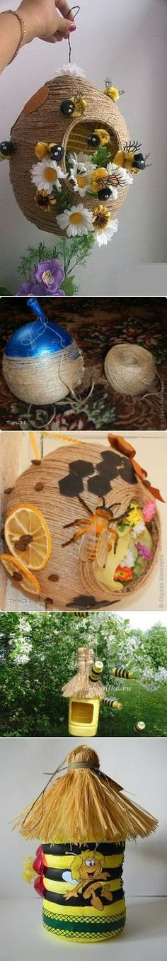 Make a lamp pendant with jute flowers and fringe Hobbies And Crafts, Crafts To Make, Crafts For Kids, Arts And Crafts, Diy Crafts, Jute Crafts, Paper Crafts, Craft Projects, Projects To Try
