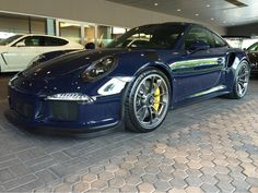 Porsche 991 GT3 RS painted in paint to sample Dark Sea Blue  Photo taken by: @ptsrs on Instagram
