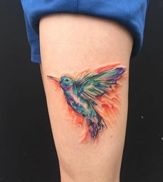 Hummingbird tattoo by @Emi in 4549 Bloomington Ave South Minneapolis, Minnesota